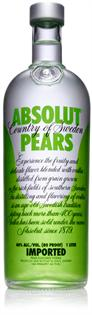 Absolut Vodka Pears 1.00l